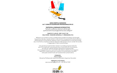 7° CORSO IN COUNSELING PROFESSIONALE SPI.CO
